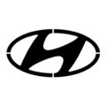 Hyundai Logo Stencil