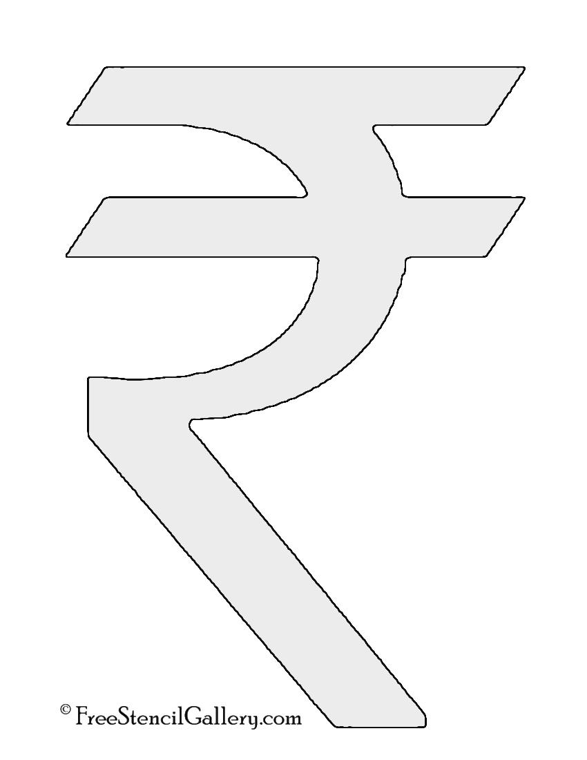 Indian rupee symbol stencil free stencil gallery indian rupee symbol stencil buycottarizona