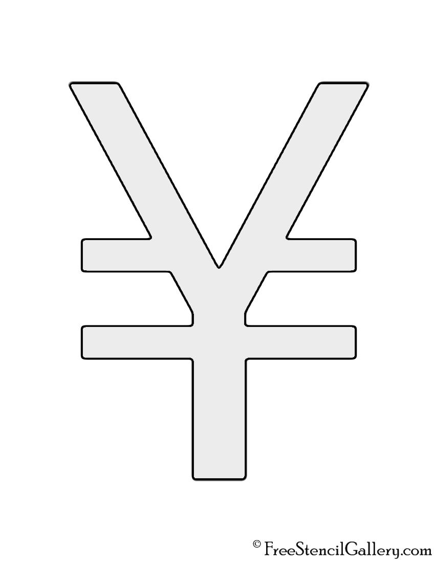 Japanese yen symbol stencil free stencil gallery japanese yen symbol stencil biocorpaavc Choice Image