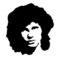 Jim Morrison Stencil