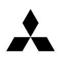 Mitsubishi Logo Stencil