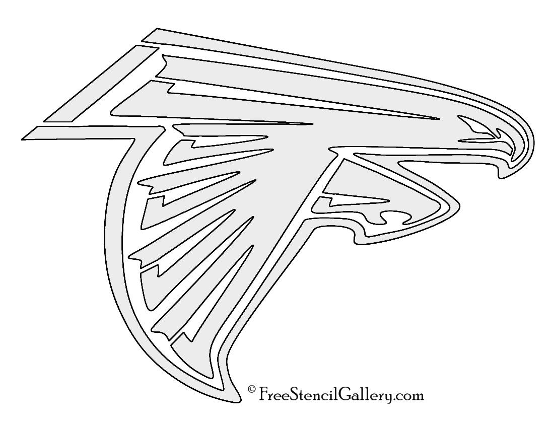 NFL Atlanta Falcons Stencil   Free Stencil Gallery