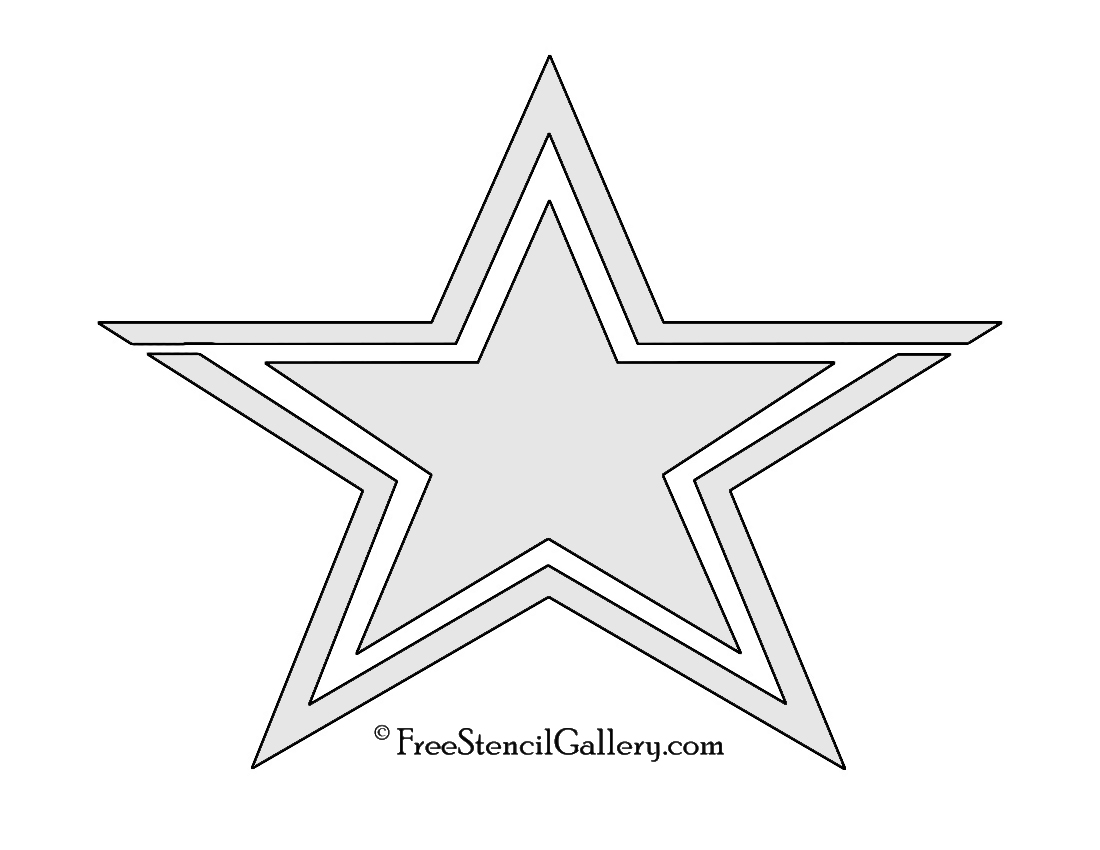 Nfl Dallas Cowboys Stencil Free Stencil Gallery Dallas Cowboys Logo Coloring Page Printable