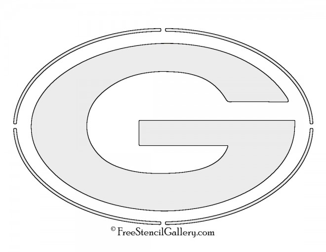 NFL Green Bay Packers Stencil