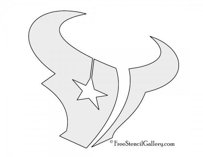 Nfl houston texans stencil free stencil gallery for Houston texans logo template
