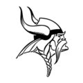 NFL Minnesota Vikings Stencil