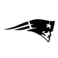 NFL New England Patriots Logo Stencil
