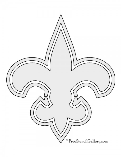 NFL New Orleans Saints Stencil