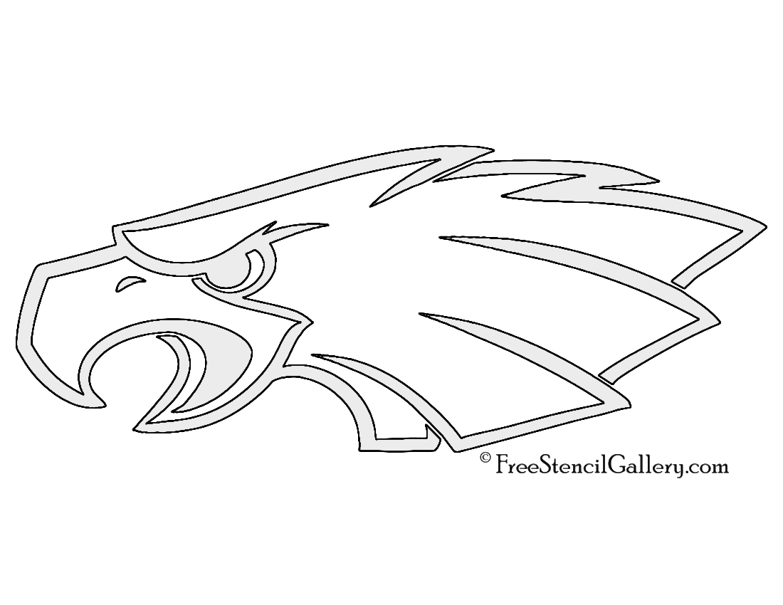 philadelphia eagle coloring pages - photo#21
