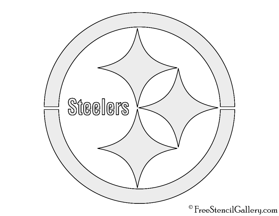 NFL Pittsburgh Steelers Stencil | Free Stencil Gallery