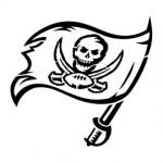 NFL Tampa Bay Buccaneers Stencil