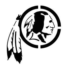 Nfl Washington Redskins Stencil Free Stencil Gallery