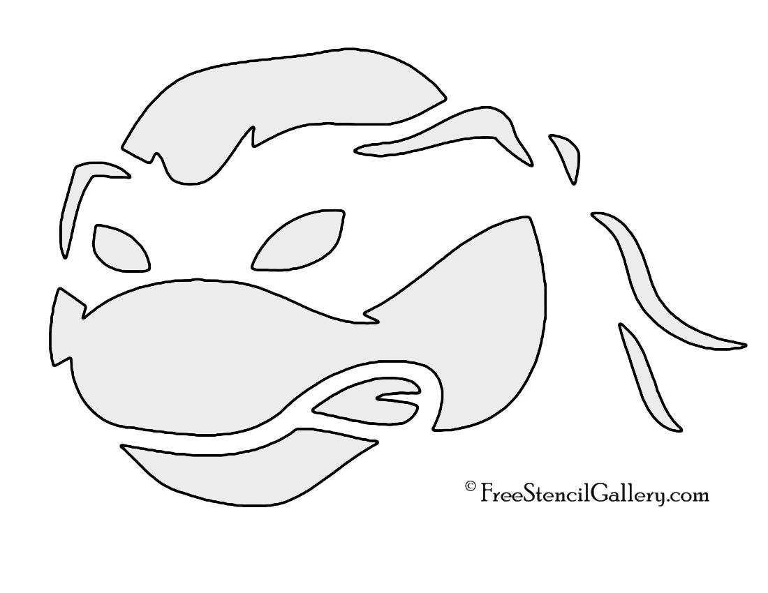 Sea Turtle Stencil Printable