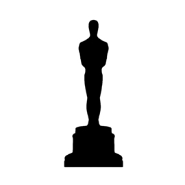 Oscar Statue Silhouette Stencil Free Stencil Gallery