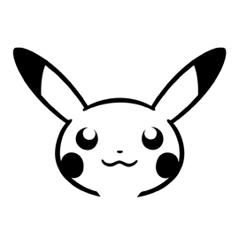 Pokemon pikachu stencil 02 free stencil gallery for Pokemon jack o lantern template
