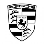 Porsche Logo Stencil