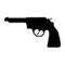 Revolver 01 Stencil