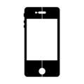 Smart Phone Stencil