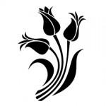 Tulip Stencil