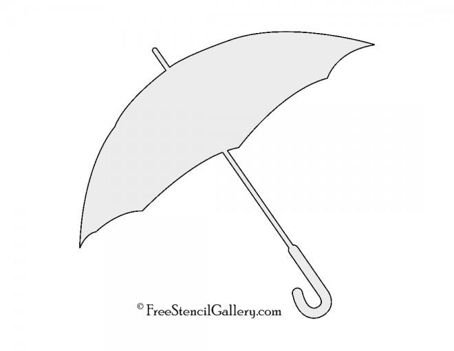 Umbrella Stencil