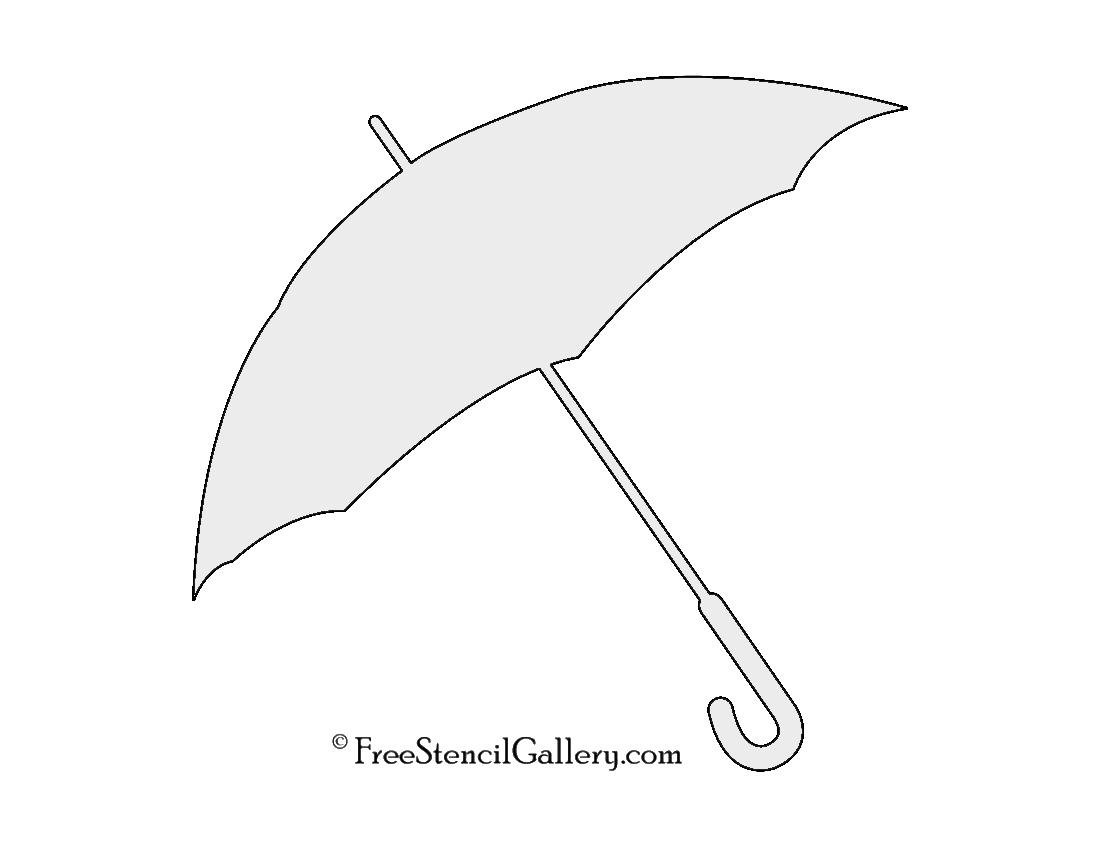 umbrella stencil free stencil gallery
