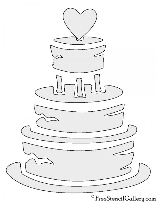 wedding cake stencils printable wedding cake stencil free stencil gallery 25704