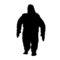 Bigfoot Stencil