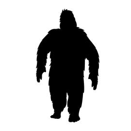 Bigfoot Stencil Free Stencil Gallery