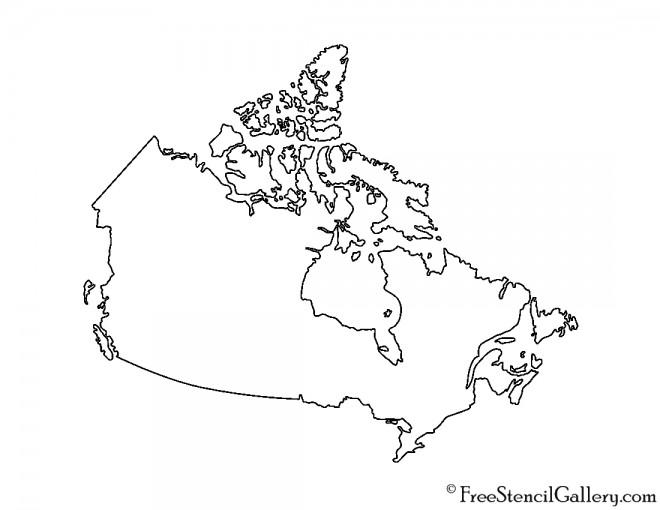 Canada Stencil