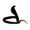 Cobra Silhouette Stencil