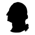 George Washington Bust Stencil