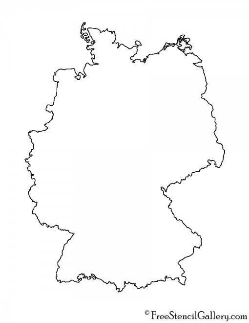 Germany Stencil