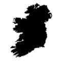 Ireland Stencil