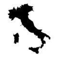 Italy Stencil