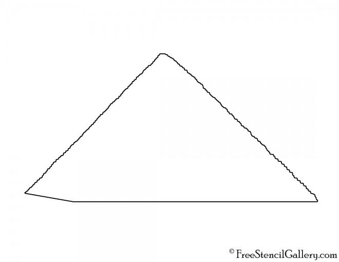 Pyramid 01 Stencil