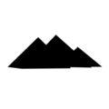 Pyramids 02 Stencil