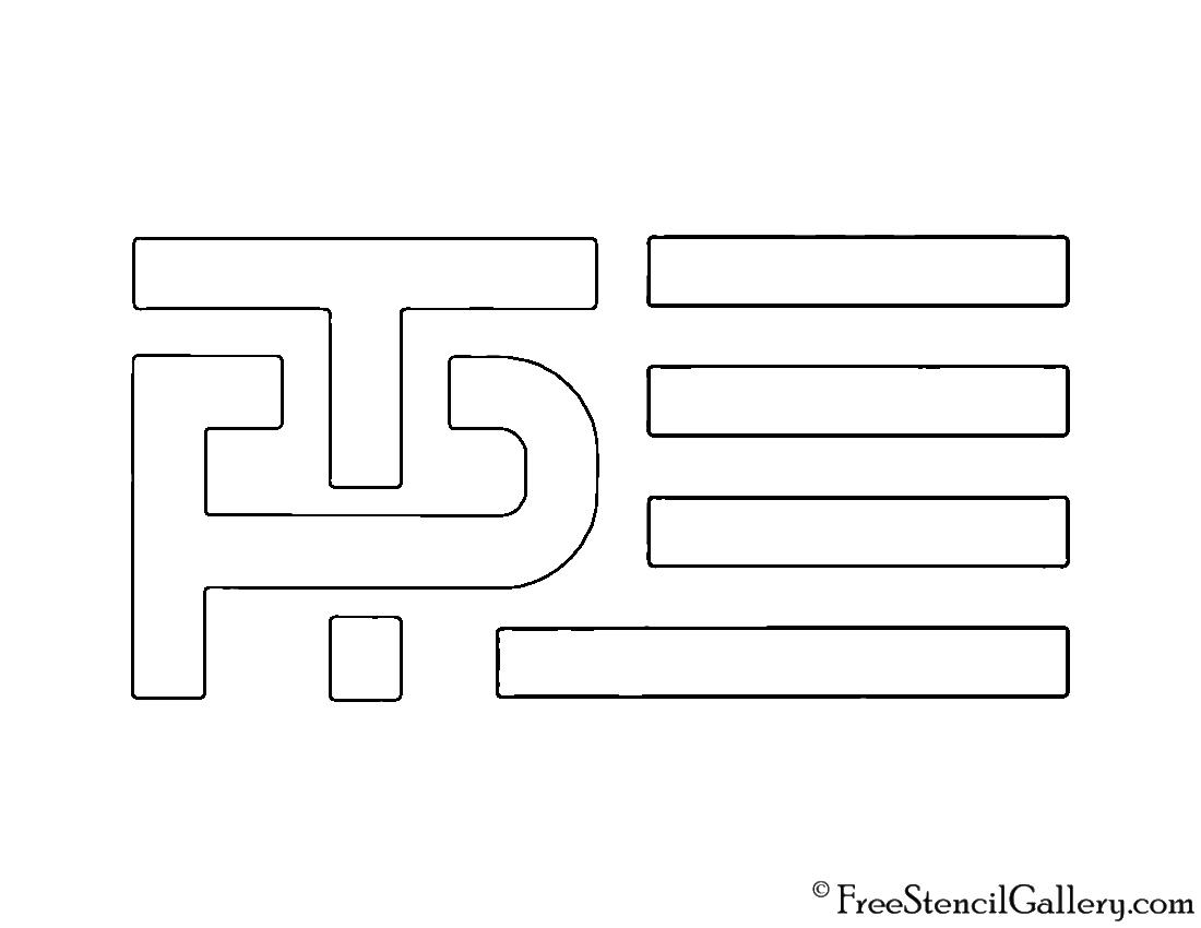 Trump pence campaign logo stencil free stencil gallery trump pence campaign logo stencil biocorpaavc