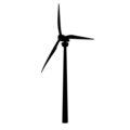 Wind Turbine Stencil