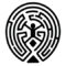 Westworld Maze Stencil