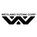 Weyland-Yutani Corporation Logo Stencil