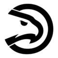 NBA Atlanta Hawks Logo Stencil