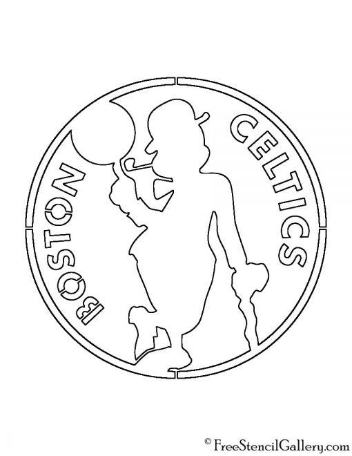 celtics logo coloring pages - photo#10