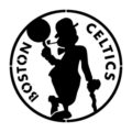 NBA Boston Celtics Logo 02 Stencil