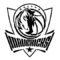 NBA Dallas Mavericks Logo Stencil