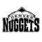NBA Denver Nuggets Logo Stencil