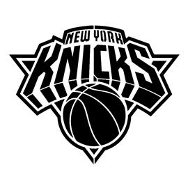 NBA New York Knicks Logo Stencil   Free Stencil Gallery