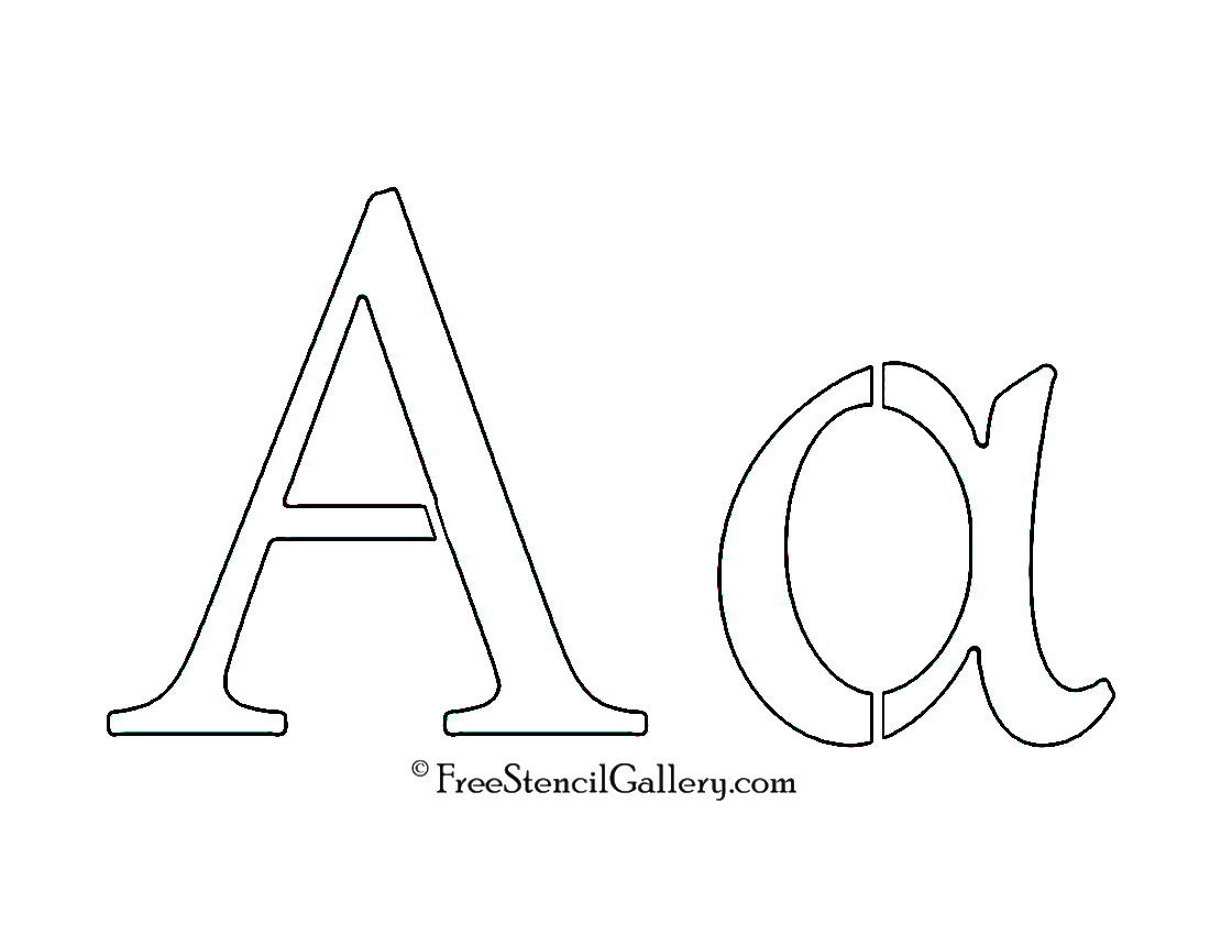 Greek letter alpha free stencil gallery greek letter alpha biocorpaavc Image collections