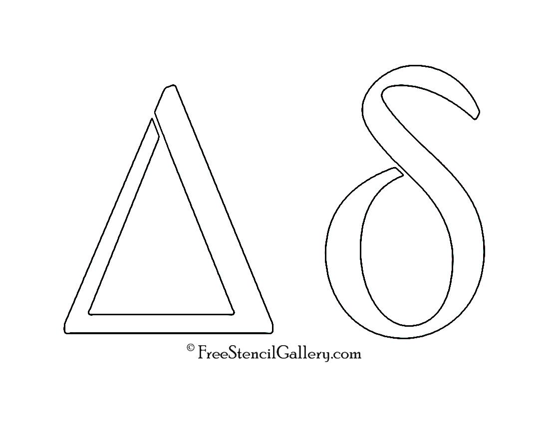 Greek Letter Delta