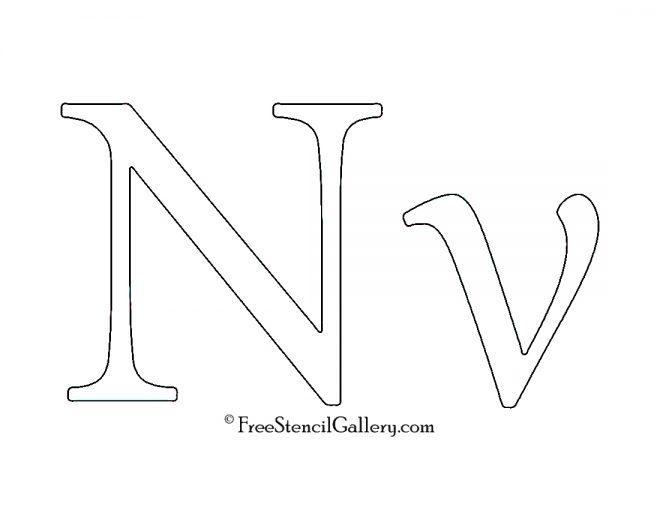 Greek Letter - Nu