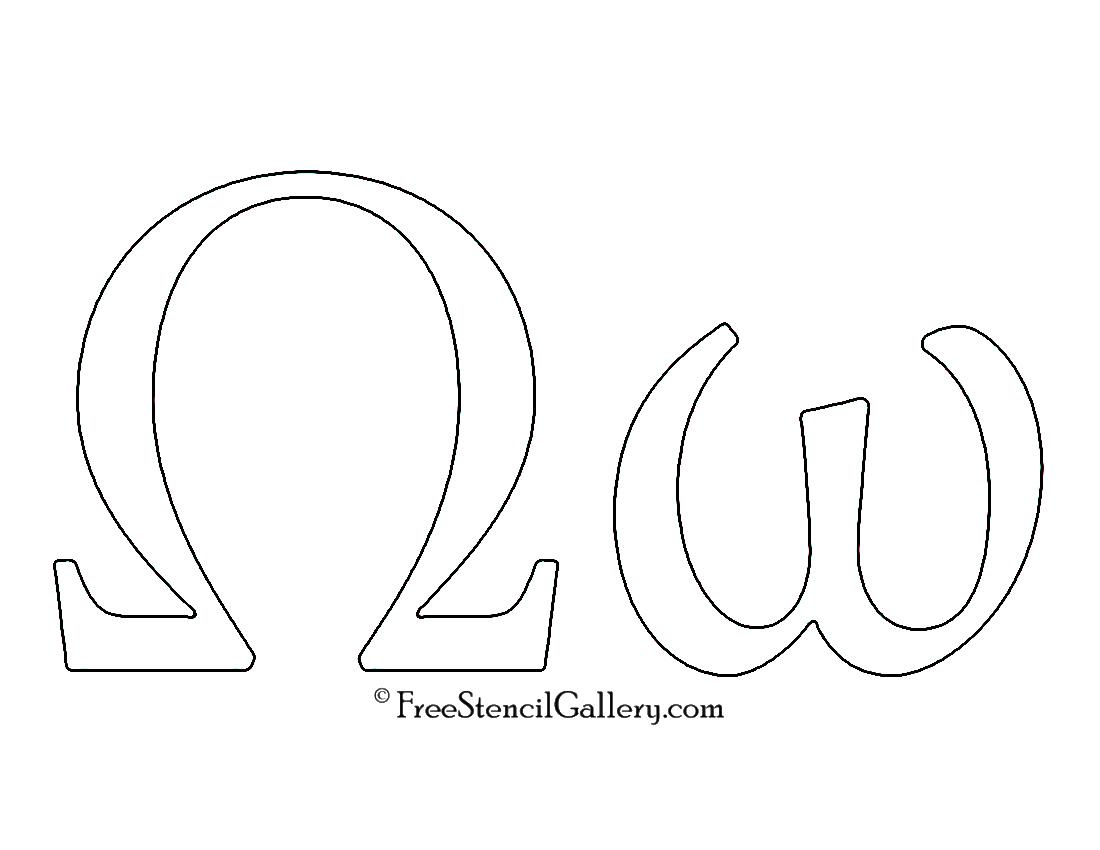 Greek Letter Omega